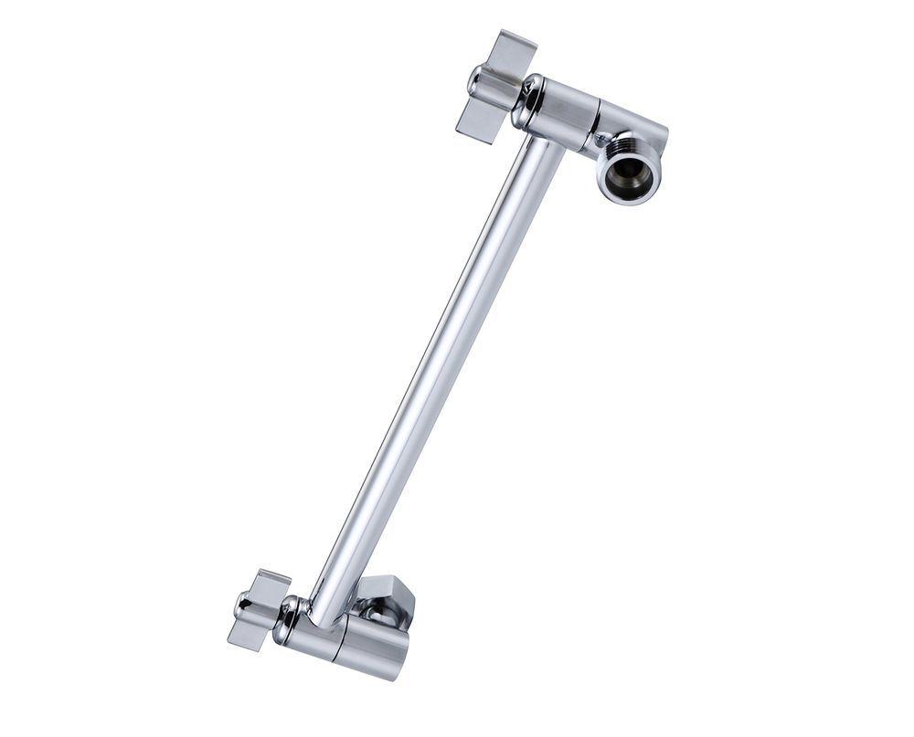 Adjustable Extension Arm Shower Head Rain 11 Inch Adjustable