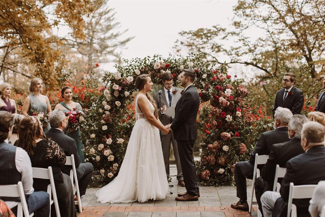 Gramercy Mansion Bed & Breakfast Stevenson, MD Wedding