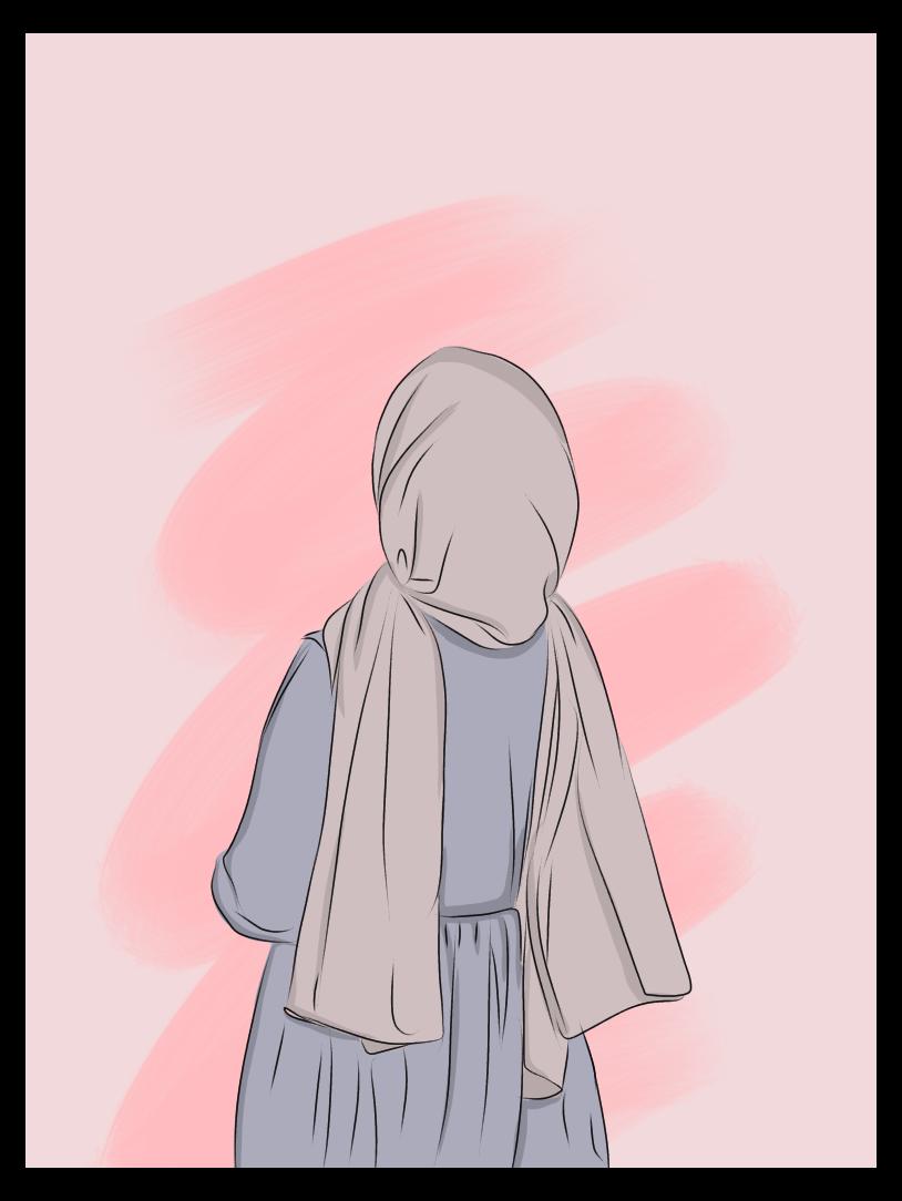Hijab Girl Cartoon Hijabgirlcartoon Girls Cartoon Art Hijab Cartoon Cartoon Art Styles