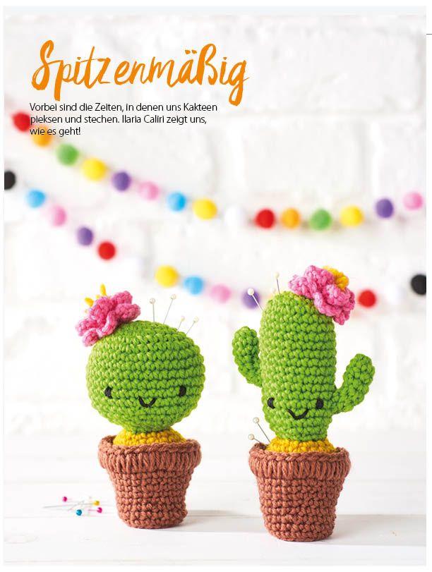 Simply Häkeln Heft 052017 Handarbeiten Pinterest Cacti
