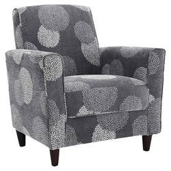 Marvelous Enzo Sunflower Arm Chair In Charcoal Accent Chairs For Spiritservingveterans Wood Chair Design Ideas Spiritservingveteransorg