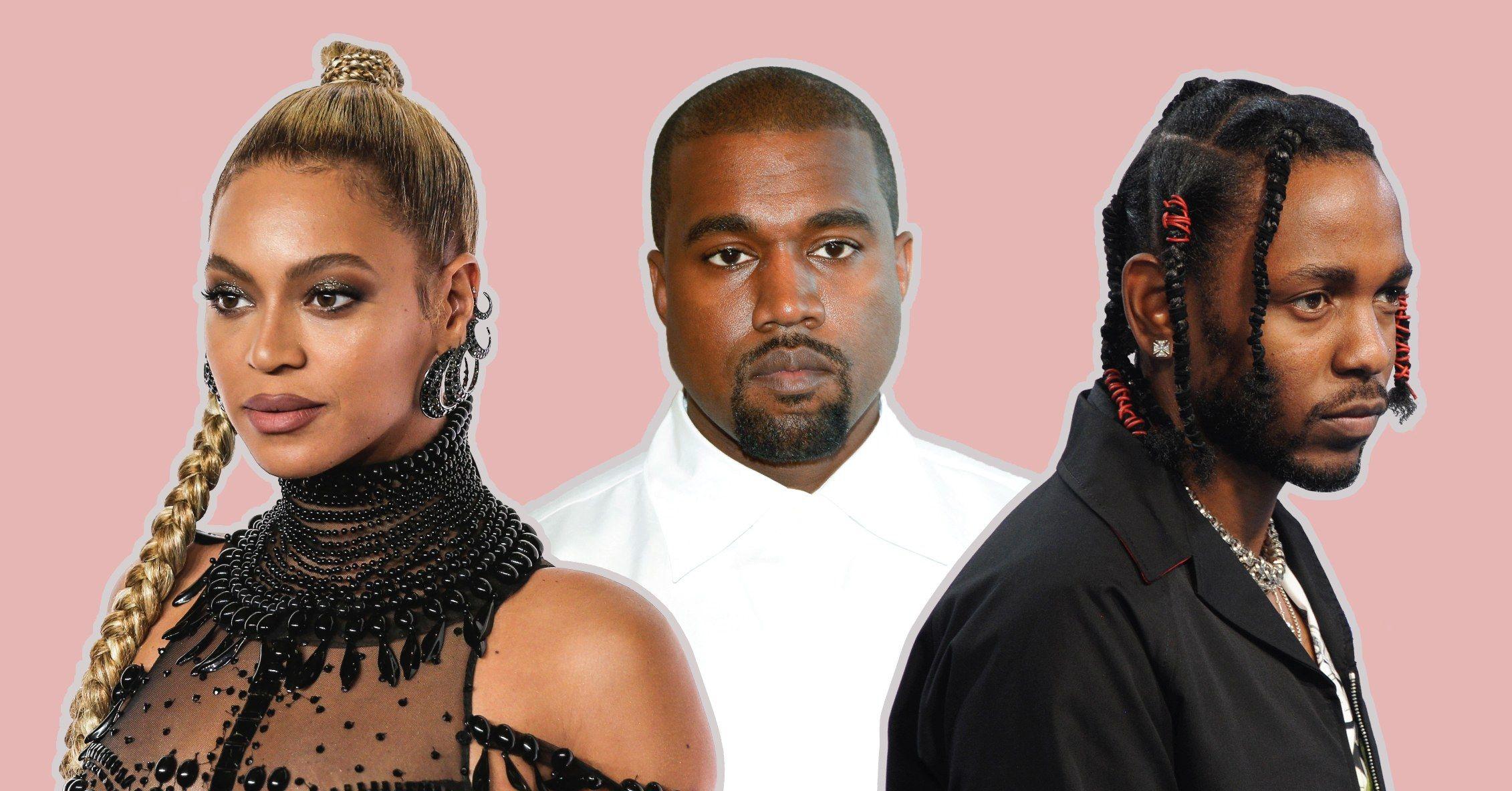 Beyonce, Kanye West ve Kendrick Lamar
