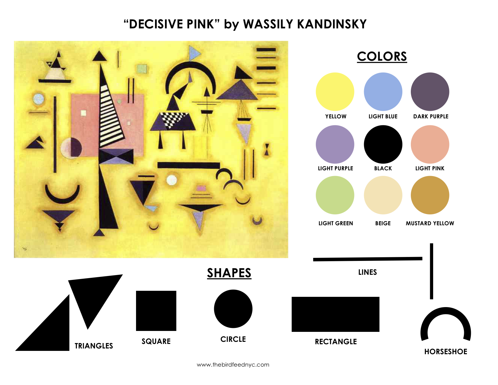 Kandinsky Coloring Page