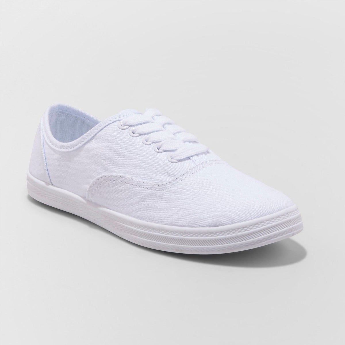 New (10) Women's Lace Up Canvas Sneaker