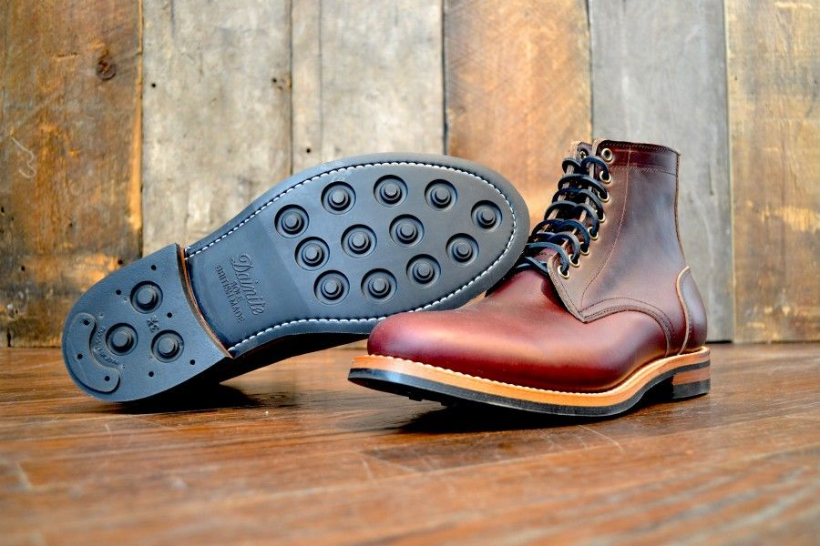 Oak Street Bootmakers Trench Boot Color 8 Chromexcel Dainite