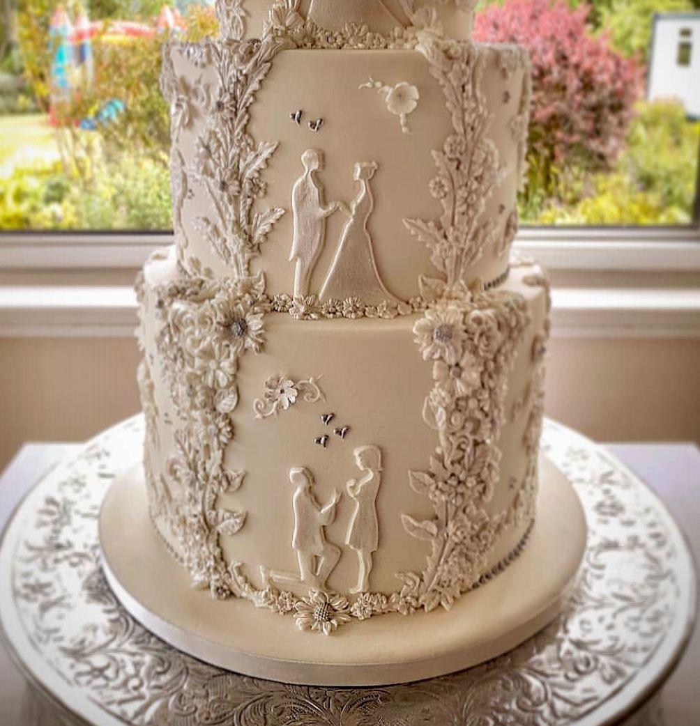 Wedding Cake Designs, Quinceanera