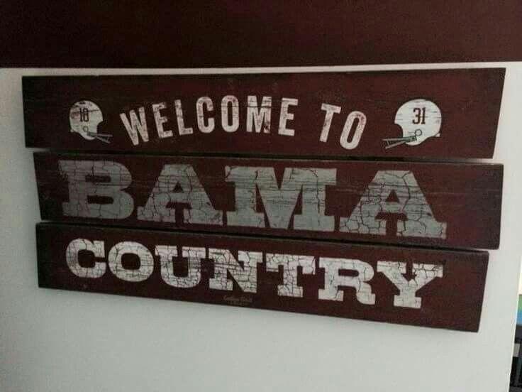 BAMA Vinyl Decal Sticker Country ALABAMA BOY State Football Truck Car window USA