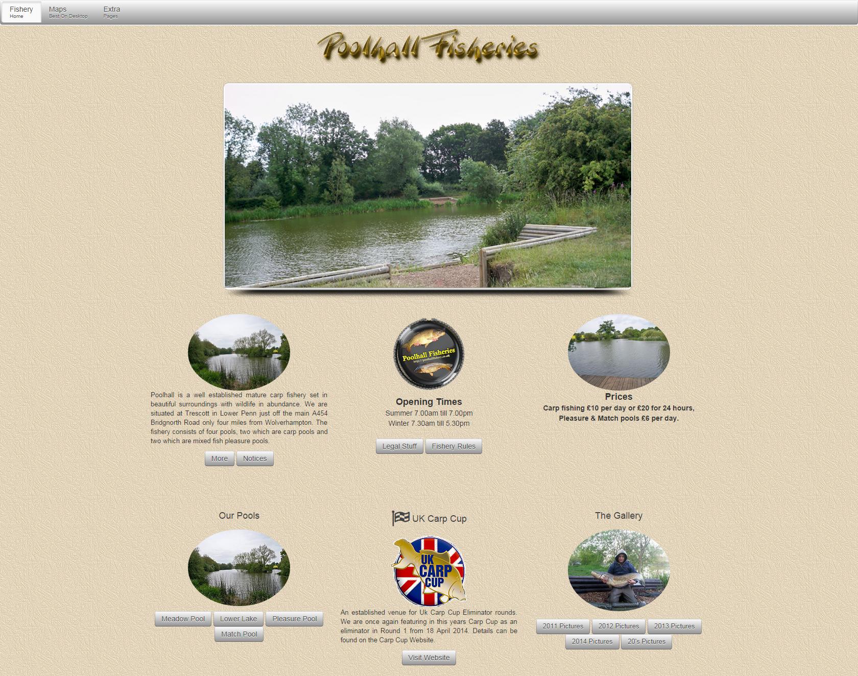 Poolhall Fisheries - http://carpfish.co.uk/listings/poolhall-fisheries/