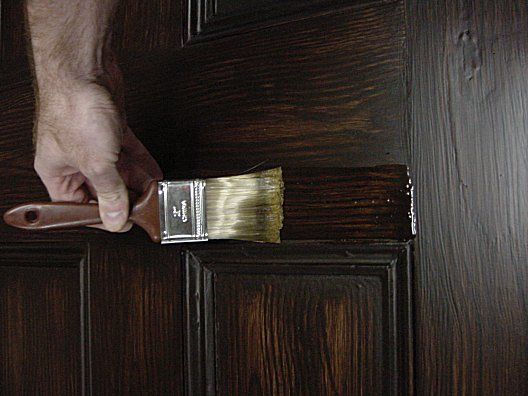 Welcome To Craig Yvonne S Victorian Home Faux Wood Paint Wood Doors Interior Faux Wood