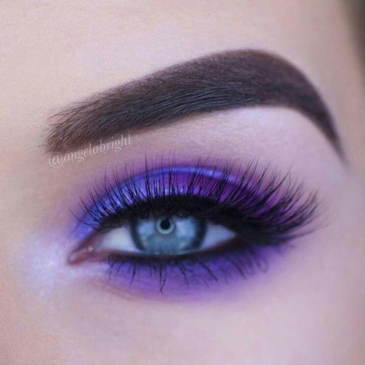Purple eyeshadow - eyeshadow