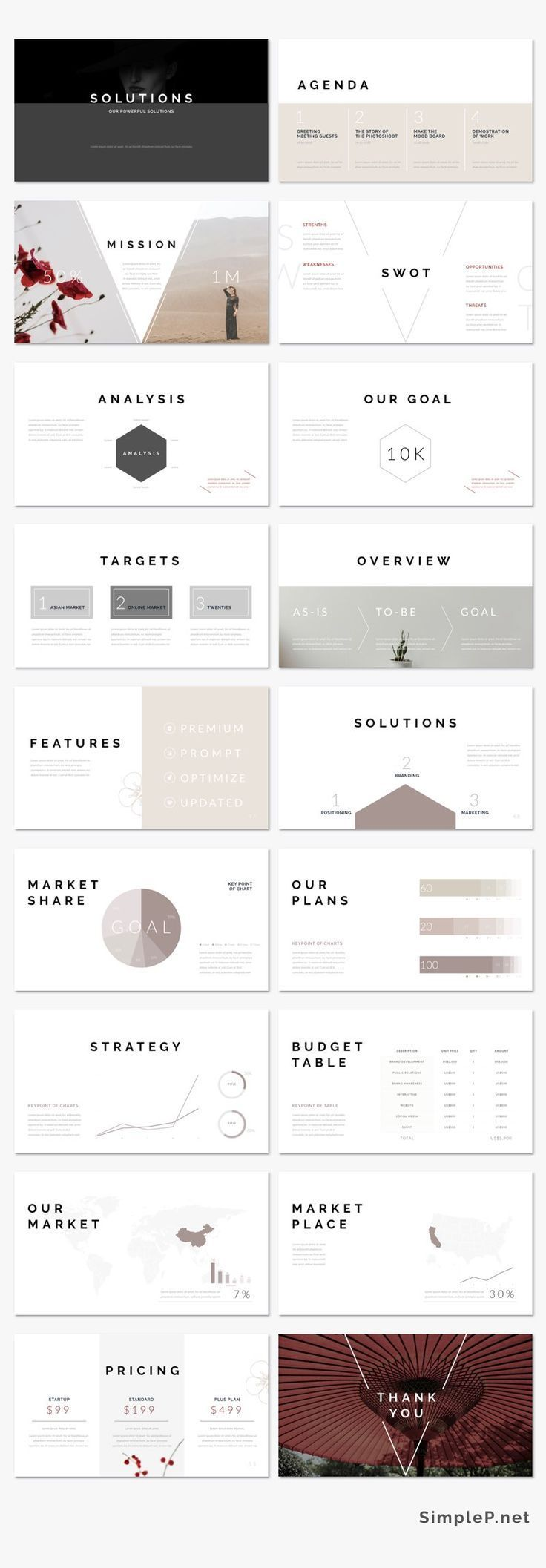 Oriental PowerPoint Template | Presentation templates, Keynote and ...