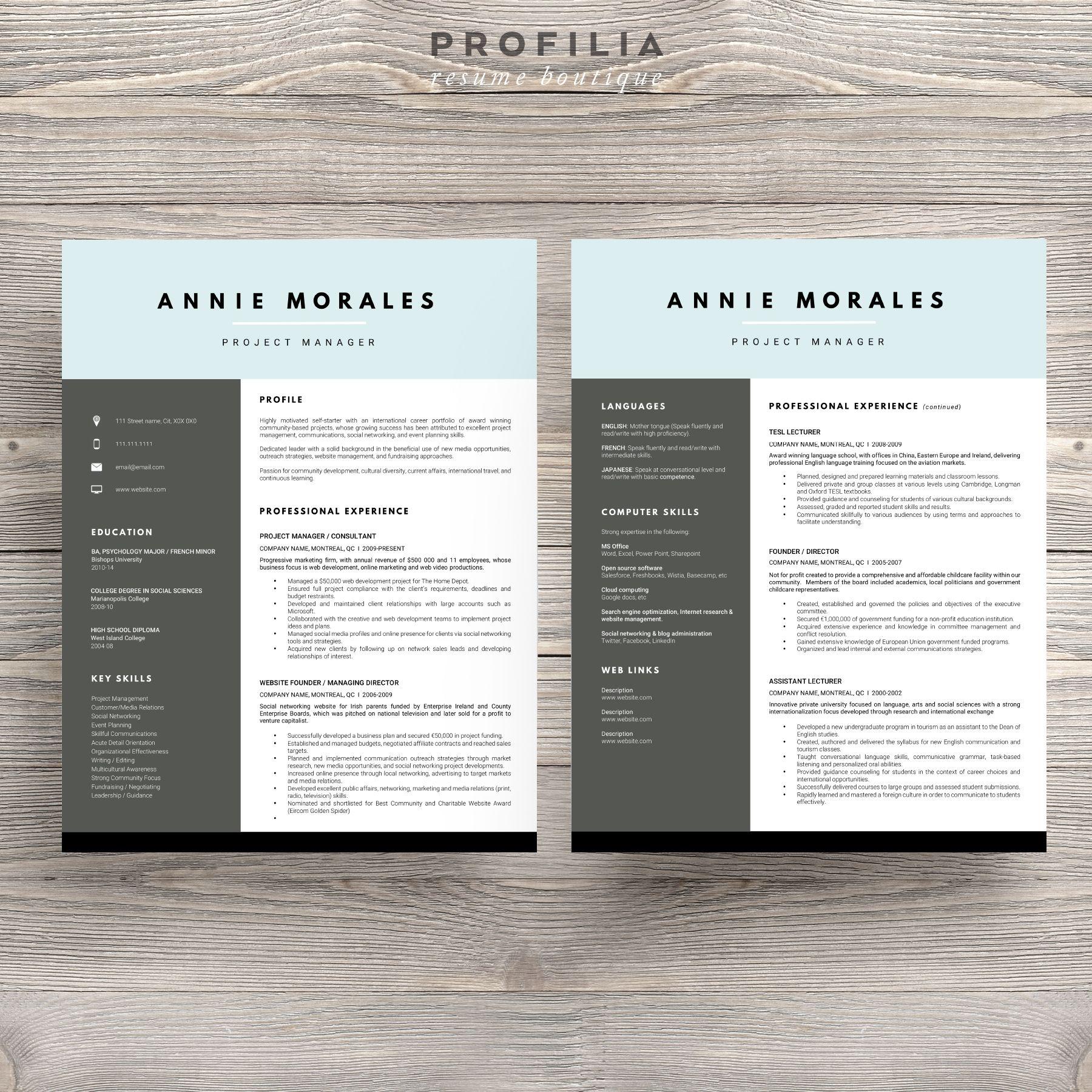 Dorable Plantilla De Carta De Presentación De Currículum De ...