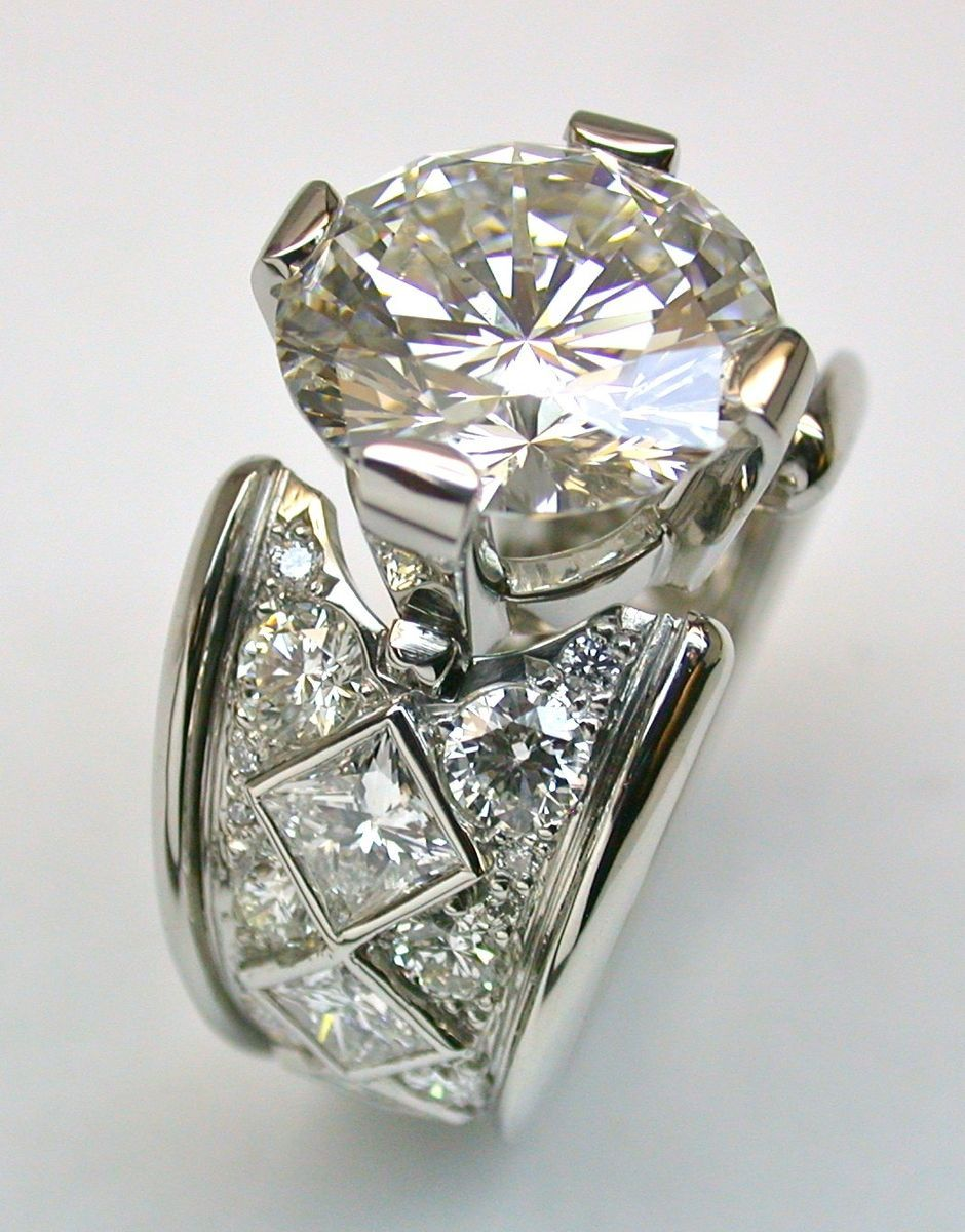 Custom made diamonds jewelry pinterest diamond ring and