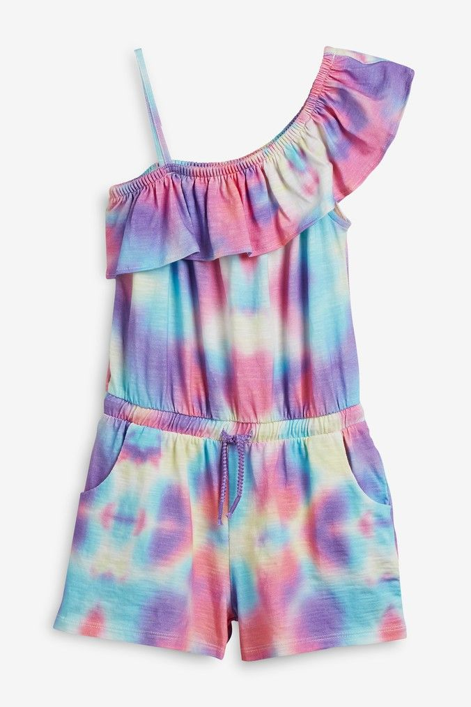 NEXT GIRLS TIE DYED DESIGNED FOR VACAY OR EVERYDAY DRESS