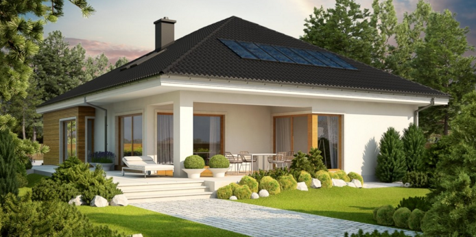 bungalow with attic to adapt, basement and a garage for two cars