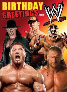 Wwe Birthday Wwe Birthday Wrestling Birthday Birthday Cards