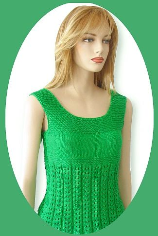 FREE CROCHETED TANK TOP PATTERN – Easy Crochet Patterns