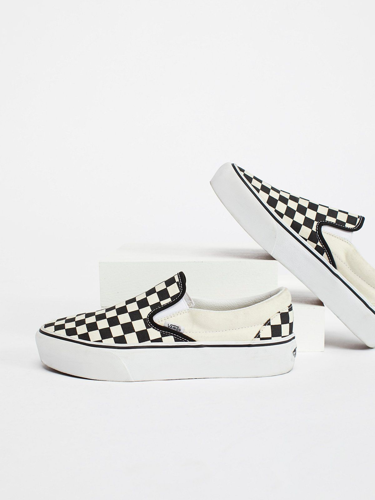 vans slip on damen platform