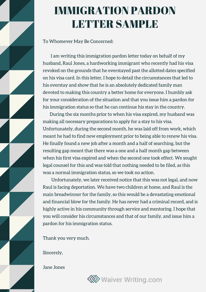 Sample Hardship Letter For Immigration Waiver from i.pinimg.com