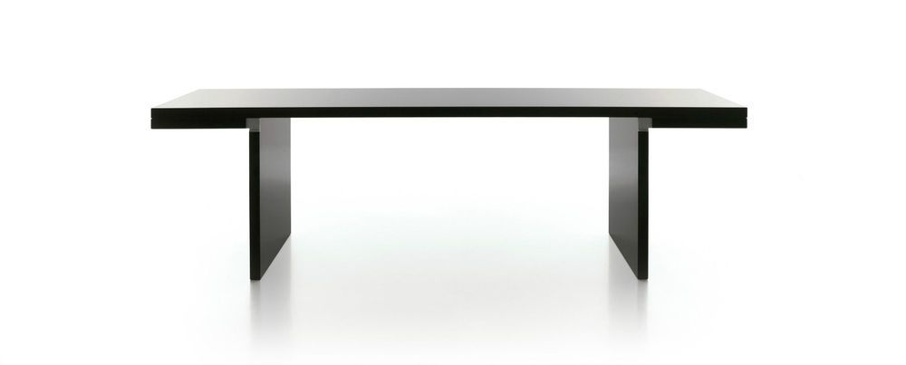 Carlo Scarpa Italy Orseolo Black Lacquer Dining Table For Simon