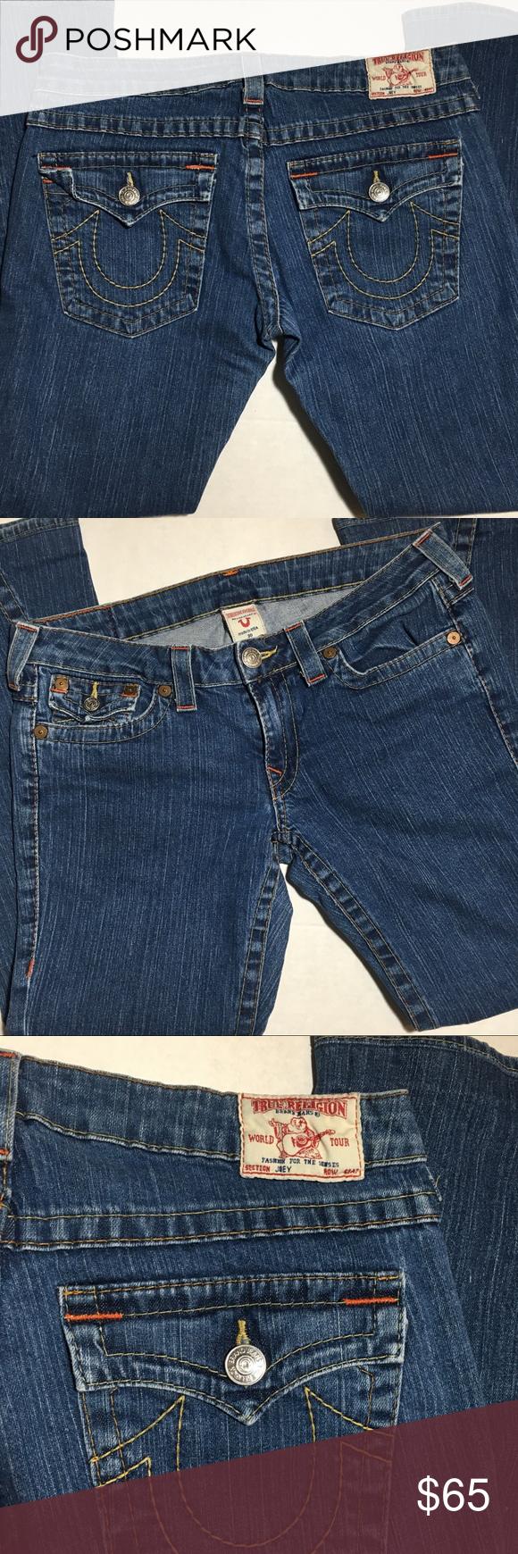 005353892  True Religion  woman s size 30Joey 10-503 Jeans True Religion Women s Size  30