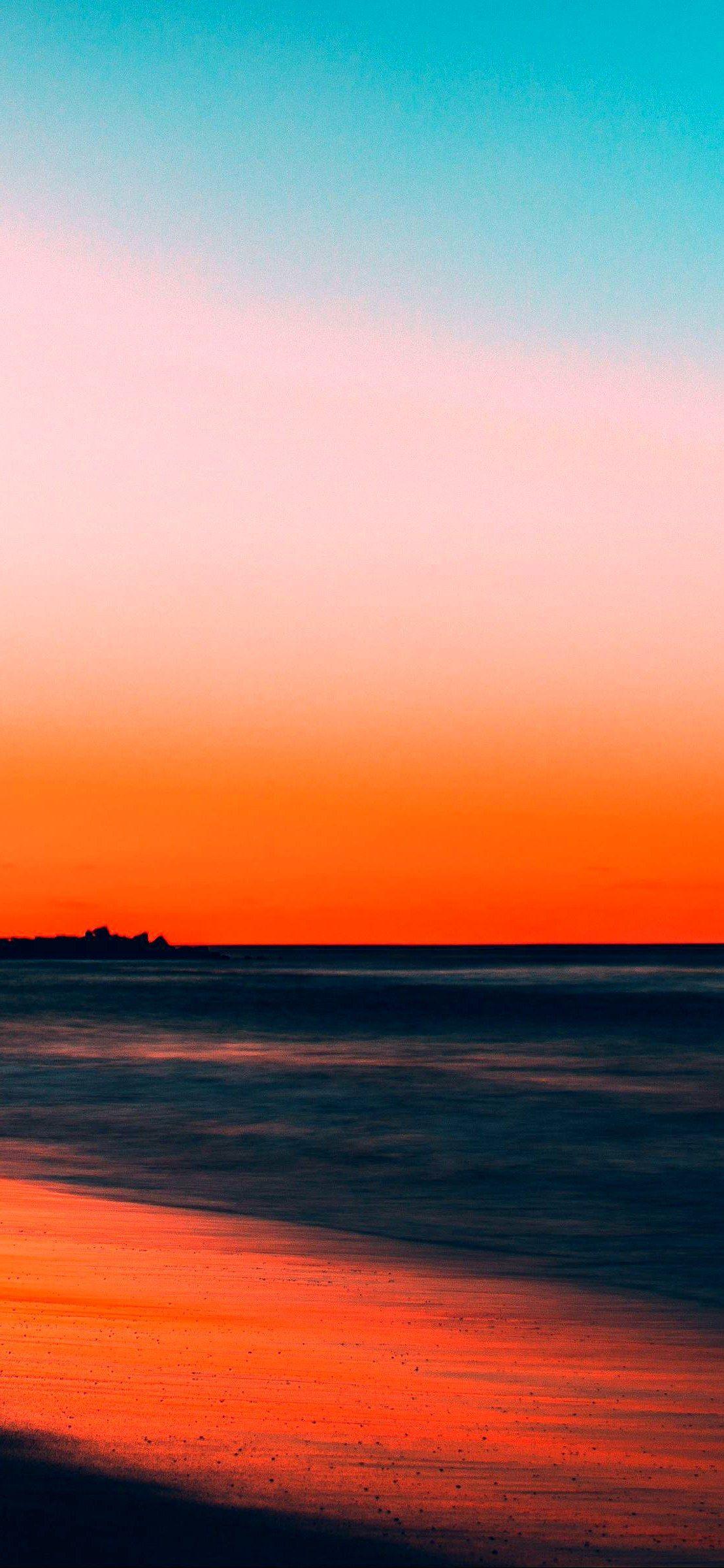 Iphone X Wallpaper Sea Sunset Horizon Hd Best Home Design Ideas Sunset Sky Sunset Wallpaper Forest Wallpaper Iphone