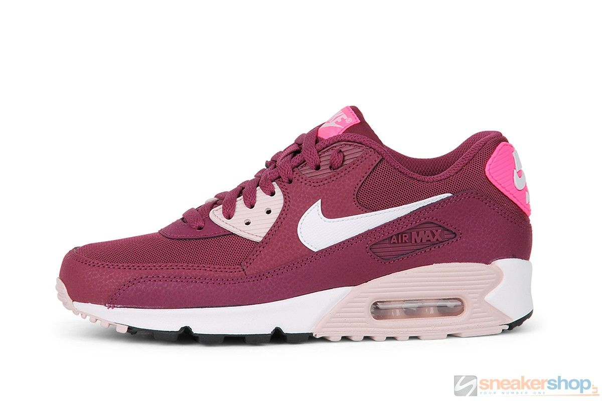 nike wmns air max 90 essential villain red with lightning