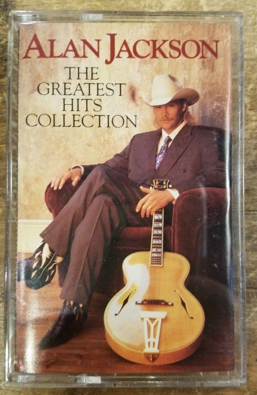 Alan Jackson Cassette Anniversary Songs Alan Jackson Greatest Hits