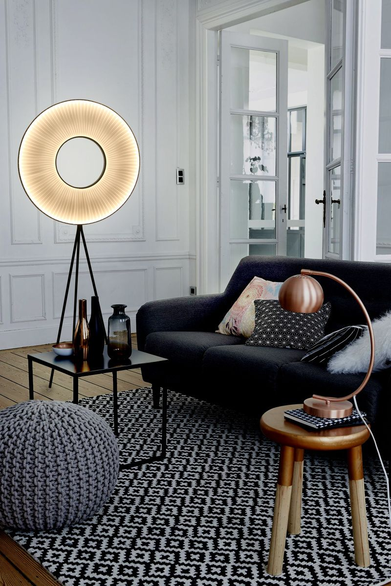 25 Absolutely Not Boring Tripod Floor Lamp Designs Stehlampe
