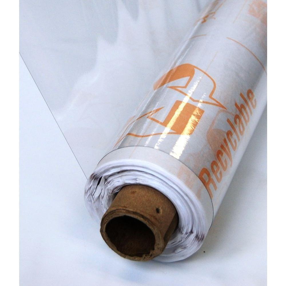 Plastic Sheeting Provides Storm Protection For Windows Doors Etc This 75 Ft Roll Of Ultra Multipurpose Vinyl From Vinyl Broken Window Diy Home Improvement