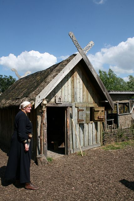 Viking house at Murton Park by museum.girl on Flickr.