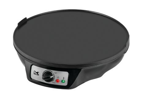 Kalorik 3-In-1 Griddle, Crepe And Pancake Maker, Black Black #pancakemaker