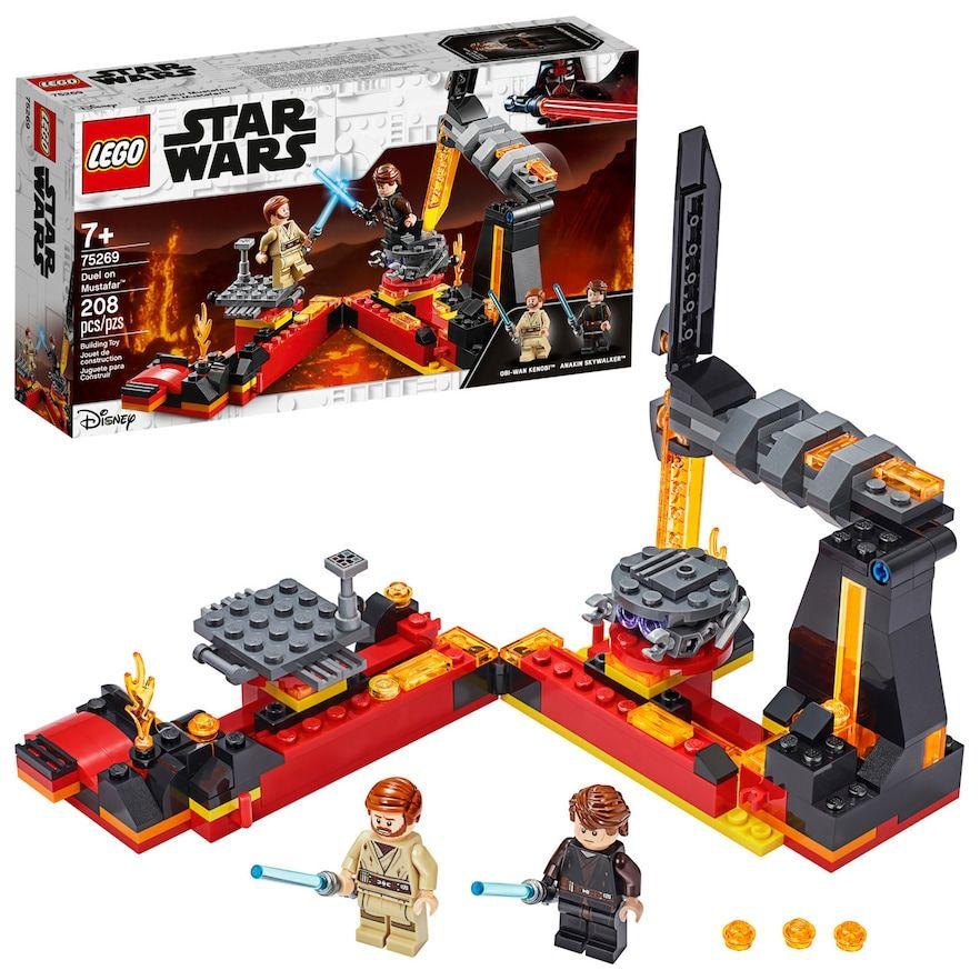 **NEW** Custom Printed ANAKIN MUSTAFAR Star Wars Building Block Minifigure