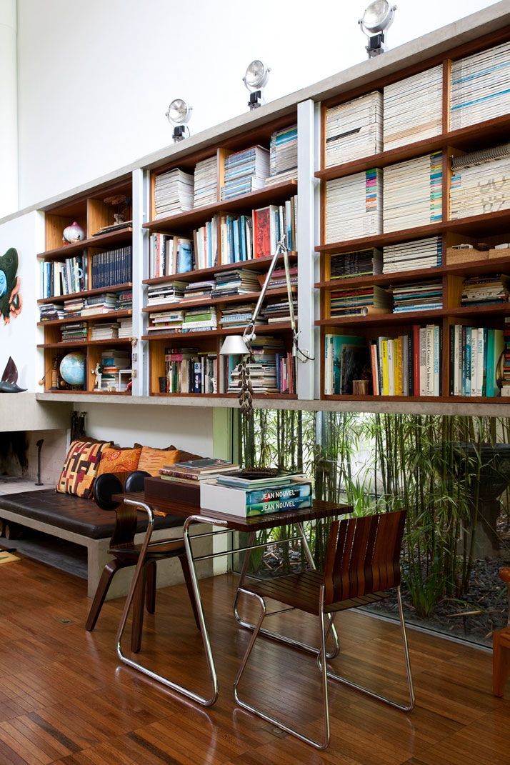 The House of Architect Pedro Useche | Library or Office | Home