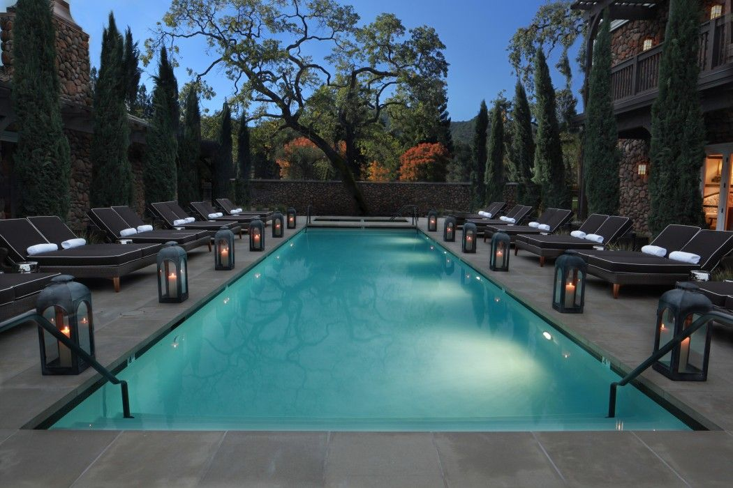 The Best Napa Valley Hotel Pools Yountville