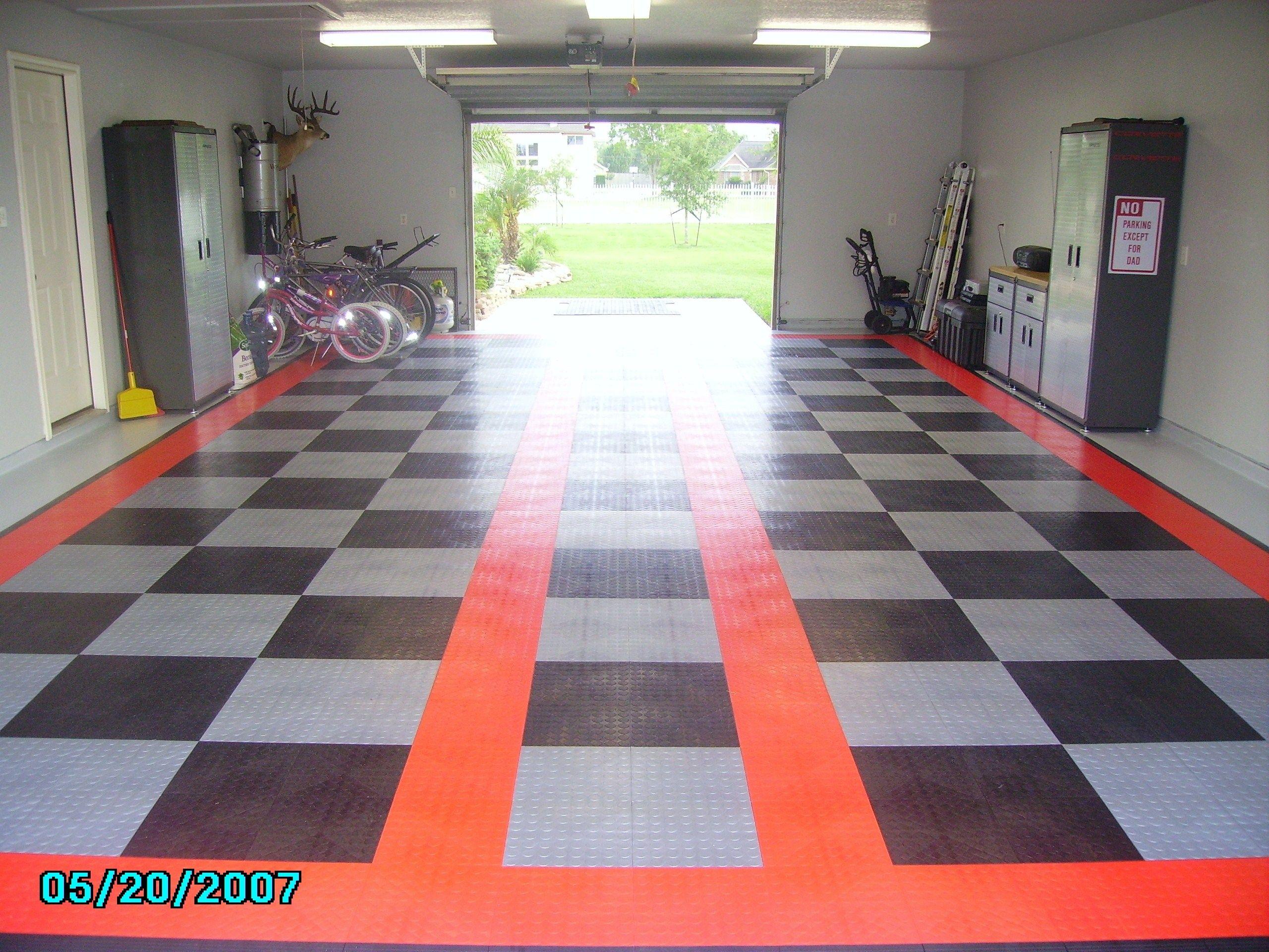 Garage floor tile vs epoxy httpnextsoft21 pinterest epoxy garage floor tile vs epoxy dailygadgetfo Images