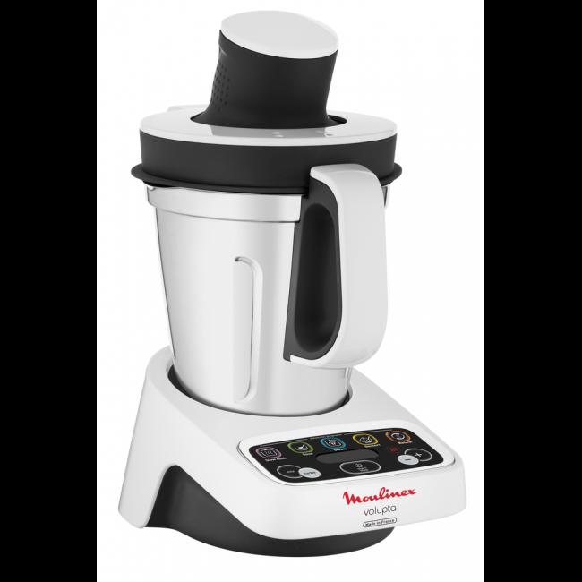 Robot cuiseur 3 l. volupta hf404110 blancgris Moulinex | La