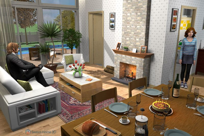 Sweet home 3d 3.1 portablefull (With images) Best home