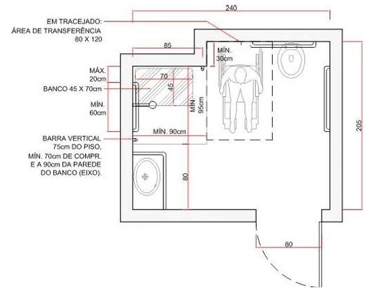 Well-known Image result for MODELOS DE BANHEIROS PNE | Banheiros PNE  LG68