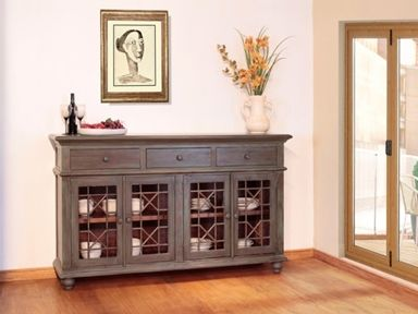Shop For Artisan Home Vintage 4 Door Console Ifd972cons And