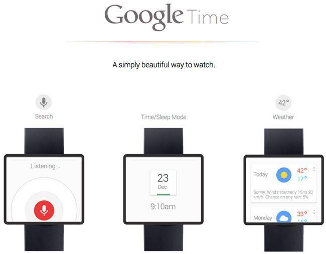 Google podría entrar en el mercado de los relojes inteligentes