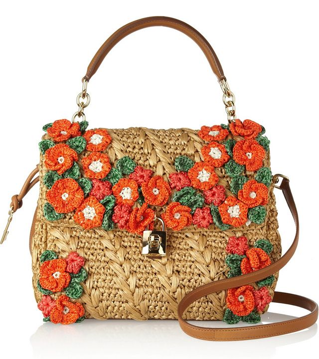 ea5ed733cc05 Dolce Gabbana makes raffia bags look anything but rustic - PurseBlog ...
