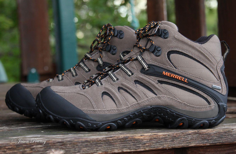 Merrell Chameleon 4 Mid Ventilator Merrell Chameleon Hiking Boots