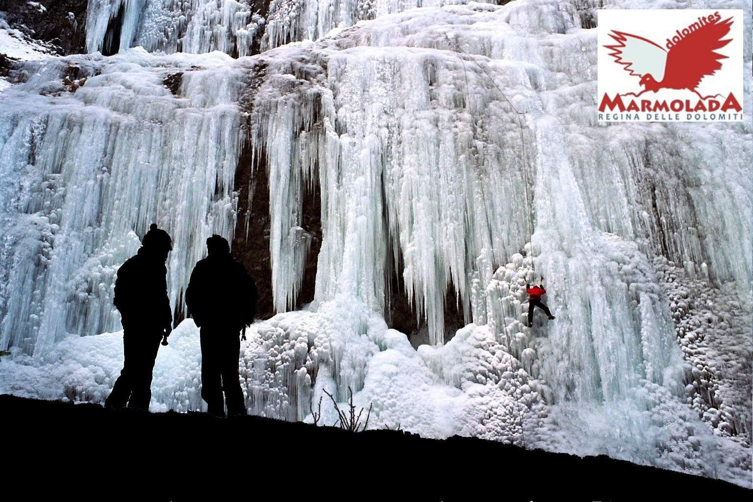 Arrampicata su ghiaccio - Serrai di Sottoguda