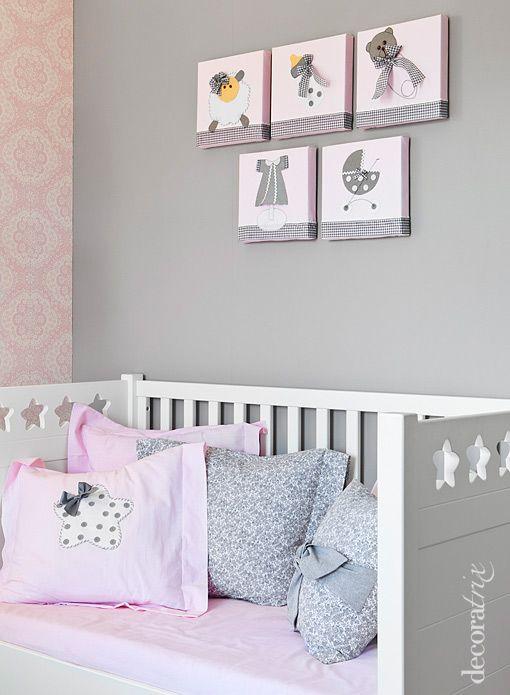 Habitacion de ni a en rosa y azul buscar con google for Cuarto de nina rosa palido