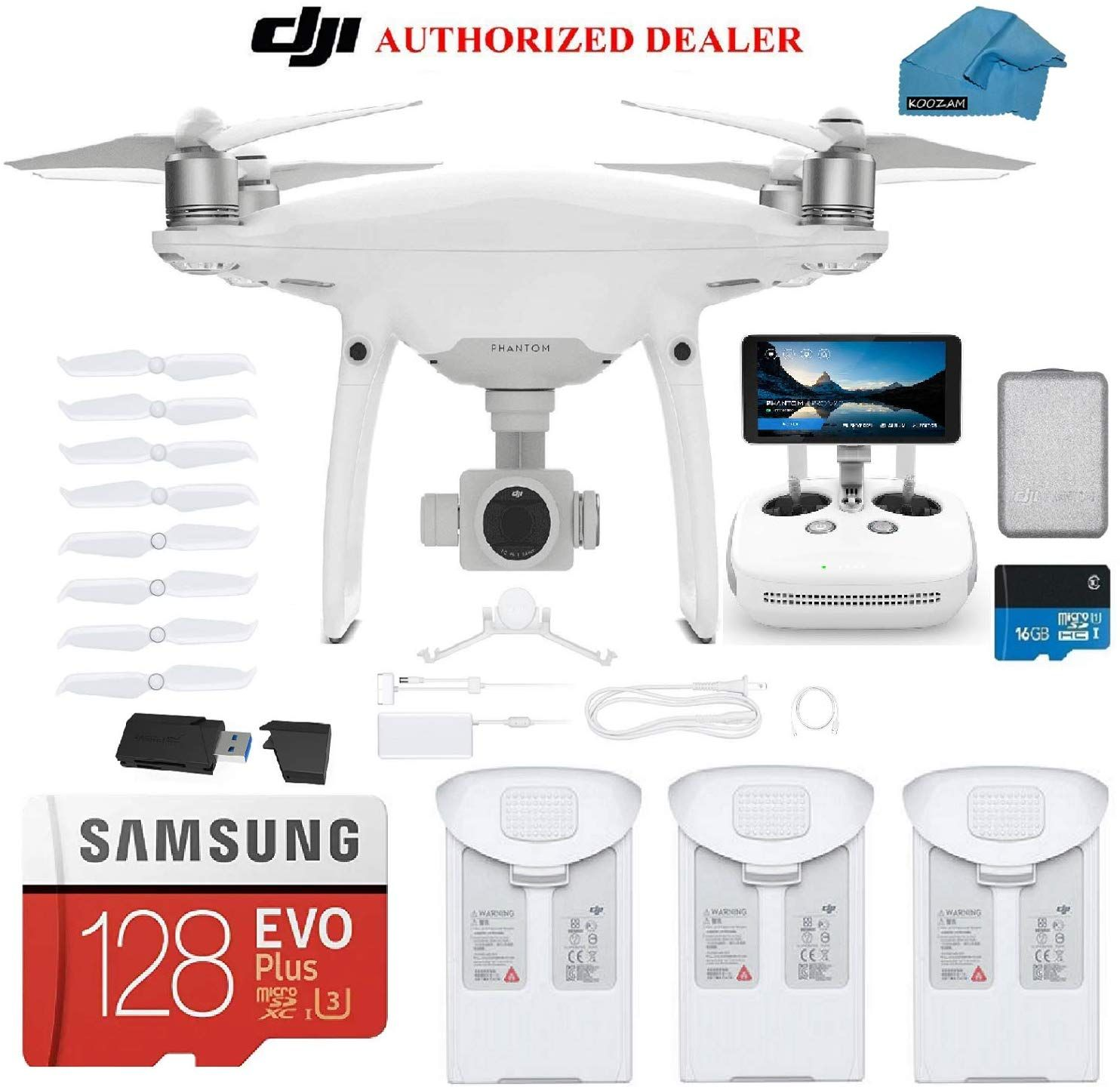 Dji Phantom 4 Pro Plus V2 0 Drone With 1 Inch 20mp 4k Camera Kit With Built In Monitor In 2020 Dji Phantom Dji Phantom 4 4k Camera