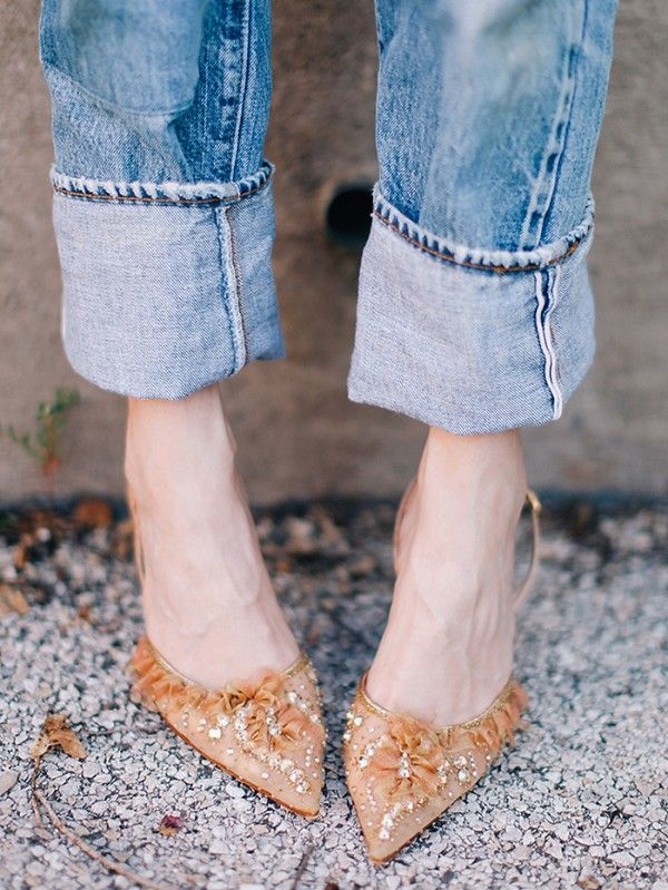 TuesdayShoesday  5 Pretty Heels to Wear With Your Favorite Jeans ... de48fbba4794