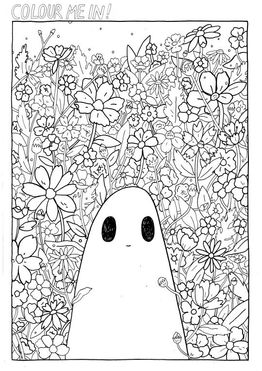 Coloring Books THE SAD GHOST CLUB BLOG