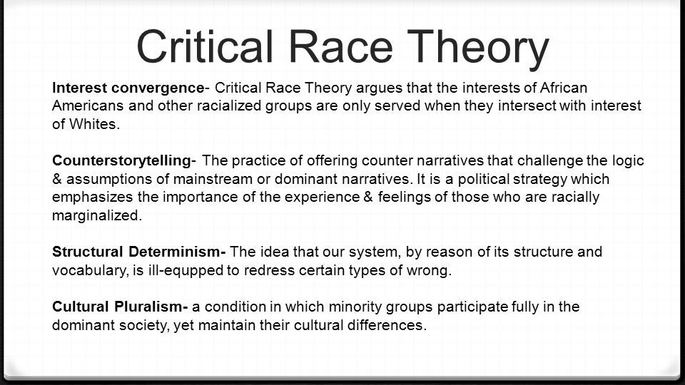 critical race theory | Critical theory, Theories, Social work