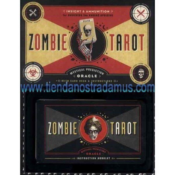 Tarot zombie, un tarot para los amantes de los zombies, o muertos vivientes